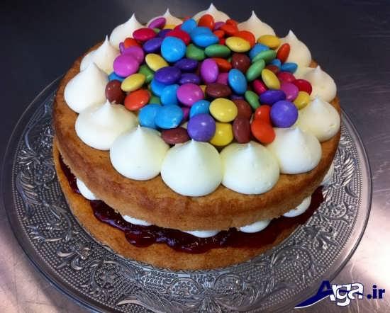تزیینات کیک اسفنجی