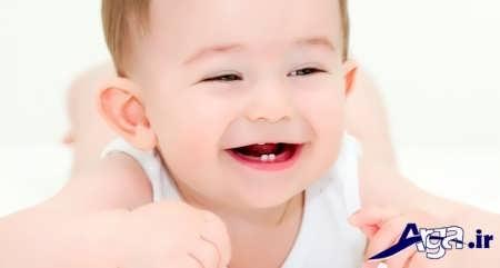 نکات دندان درآوردن نوزاد