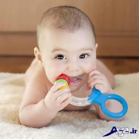 دندان درآوردن در نوزادان