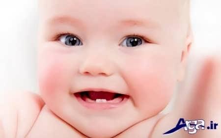خارش و درد دندان درآوردن نوزاد