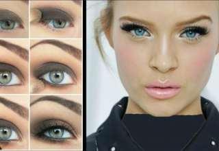 مدل های آرایش چشم های ریز با جدیدترین متدهای آرایشی روز دنیا