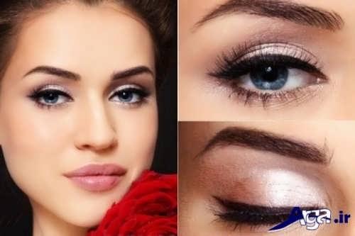 مدل آرایش چشم عروس
