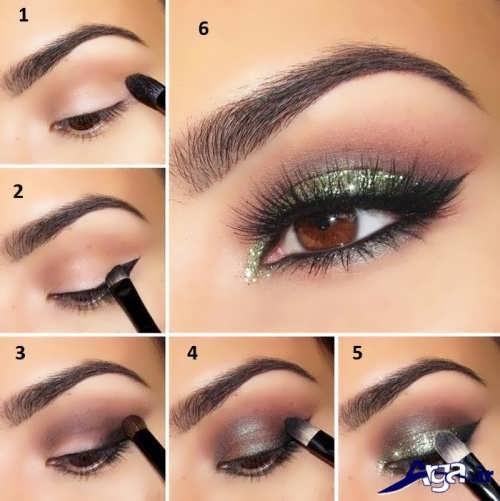 مدل های زیبا آرایش چشم