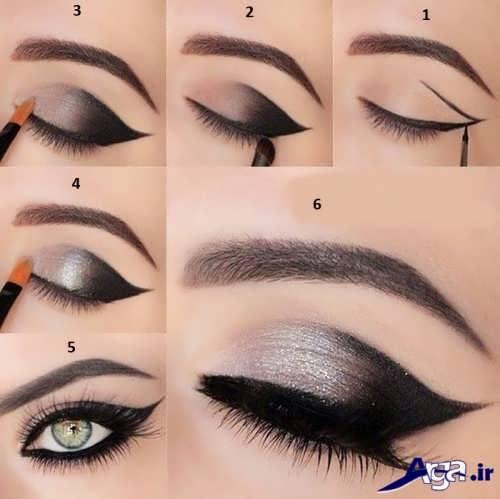 انواع نمونه های آرایش چشم
