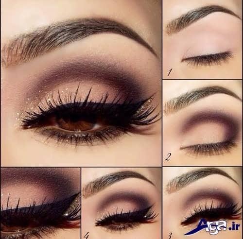 متدهای جدید برای آرایش چشم های ریز