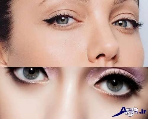 نمونه های میکاپ چشم