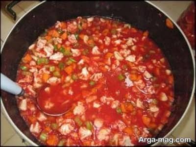 روش تهیه ترشی گوجه فرنگی