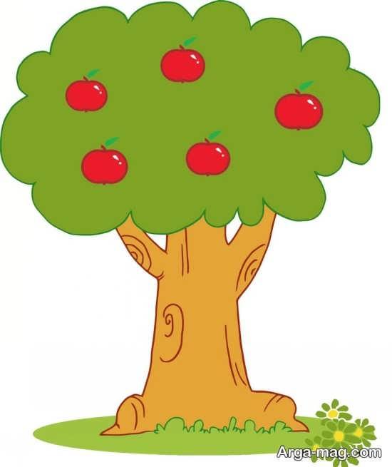 قشنگ ترین نقاشی درخت