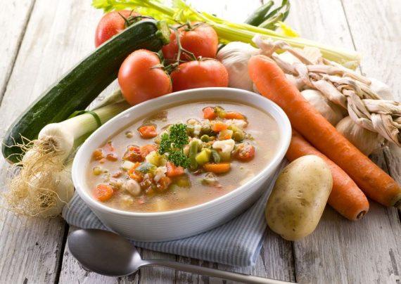 طرز تهیه سوپ سبزیجات خوشمزه و لذیذ