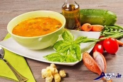 طرز تهیه سوپ سبزیجات