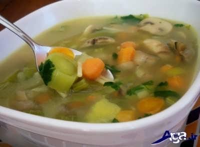 روش تهیه سوپ سبزیجات خوش طعم