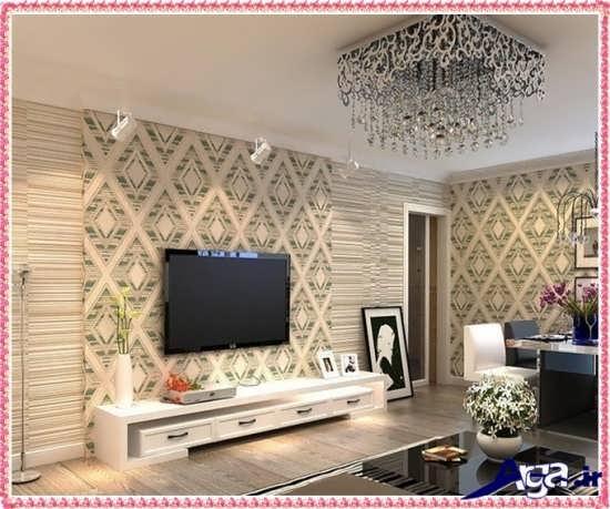 طرح های زیبا و بی نظیر کاغذ دیواری
