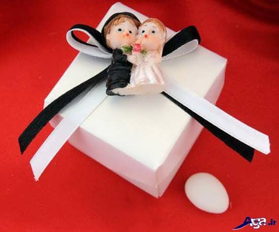 تزیین هدایای عروس و داماد