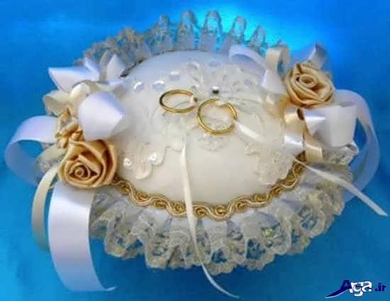 تزیین جا حلقه ای عروس