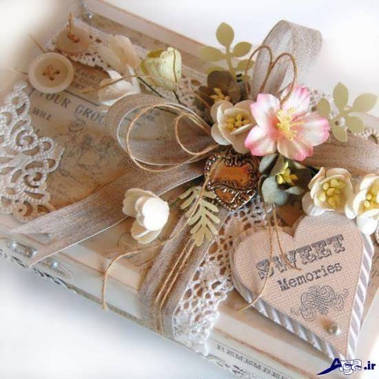 تزیین کادوی عروس با روش های جدید و جالب