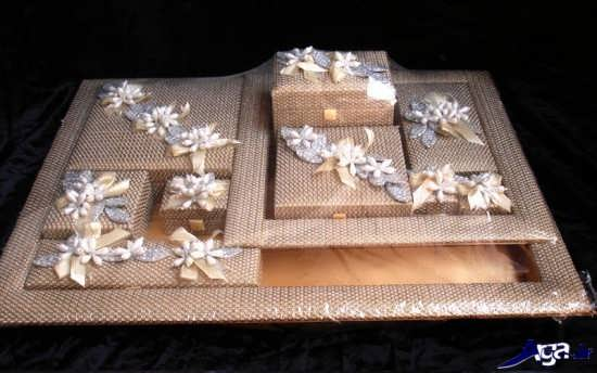 تزیین کادو زیبا برای عروس