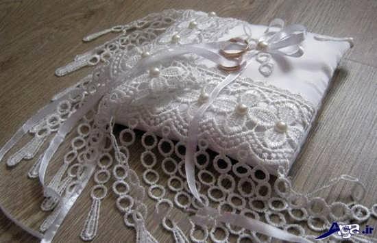تزیین جاحلقه ای عروس