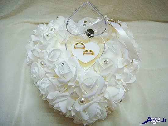 تزیین جعبه حلقه عروس و داماد