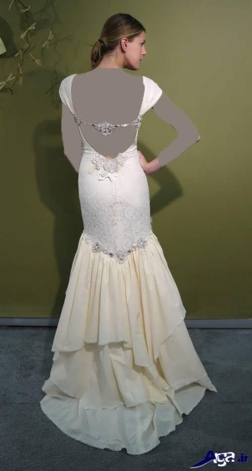 لباس عروس شیک و متفاوت