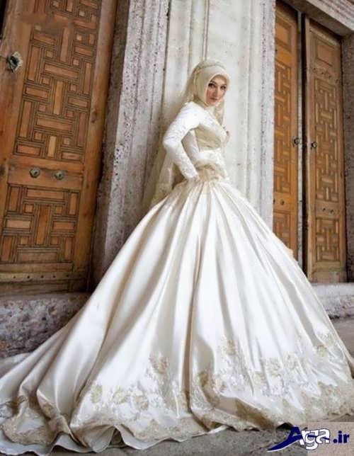 لباس عروس ایرانی پوشیده