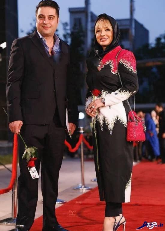 عکس نیوشا ضیغمی در جشن حافظ