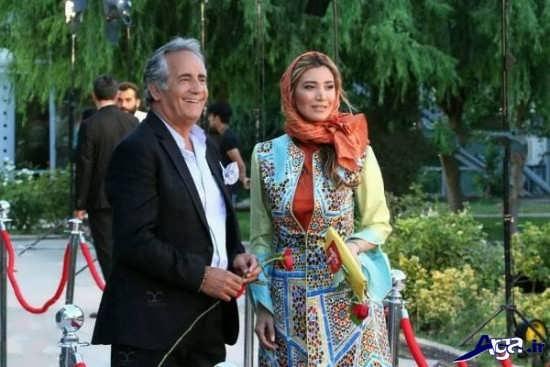 عکس بازیگران در جشن حافظ