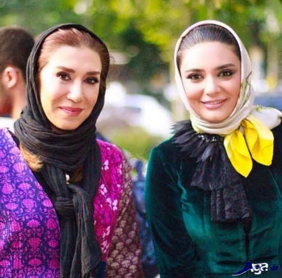 بازیگران در جشن حافظ