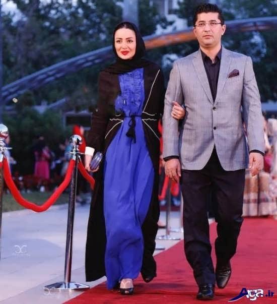 شیلا خداداد و همسرش در جشن