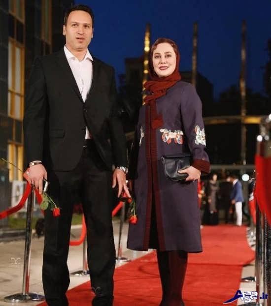 عکس آرام جعفری و همسرش