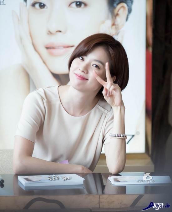 عکس هان هیو جو با ژست های متفاوت