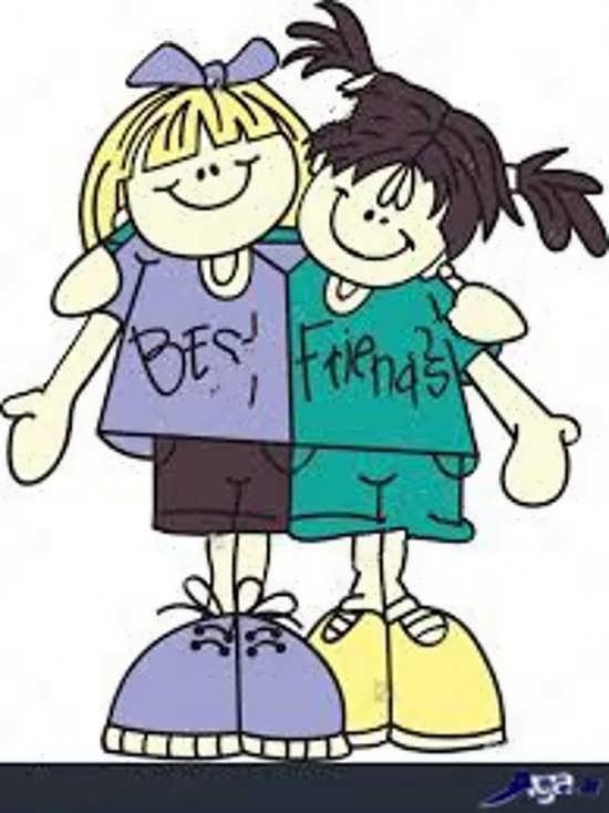 از ویژگی دوستان خوب این است که در تمام شرایط با شماست.