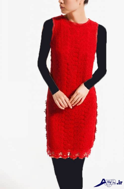 لباس گیپور با طرح ساده