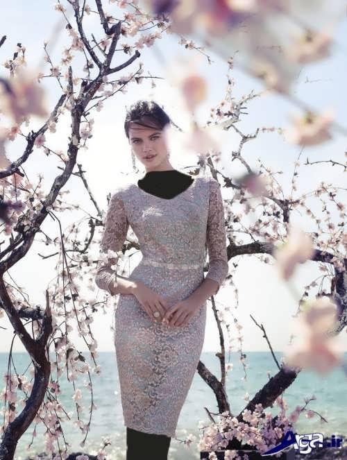 مدل لباس گیپور کوتاه زنانه و دخترانه