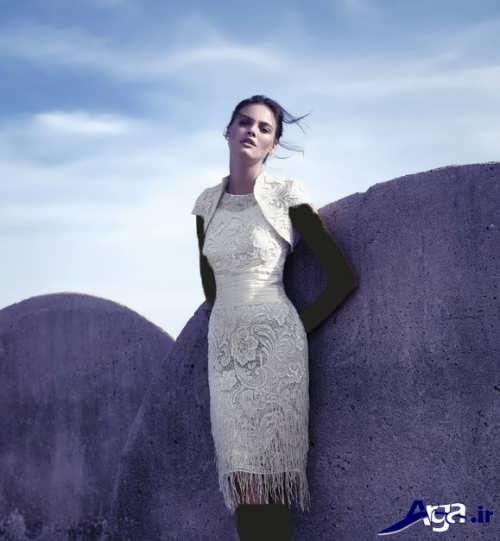 لباس مجلسی گیپور با طرح های مد سال
