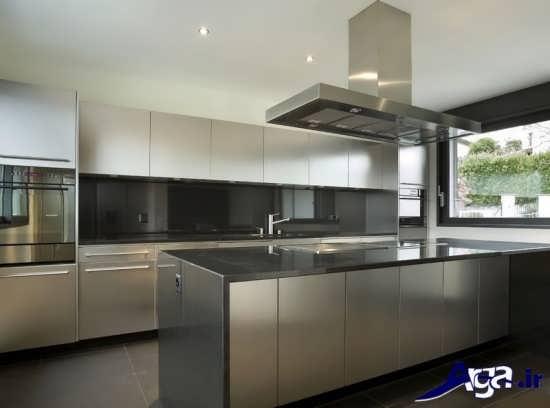 مدل کابینت آشپزخانه مدرن با طراحی بی نظیر