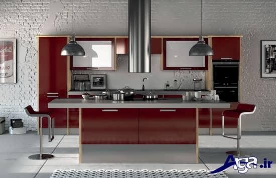 مدل های کابینت آشپزخانه براق