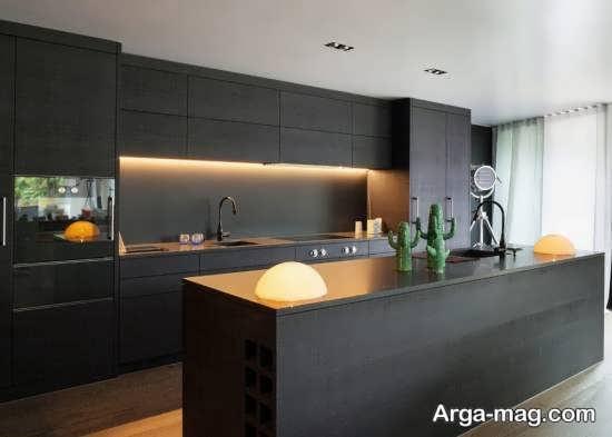 مدل کابینت آشپز خانه مدرن