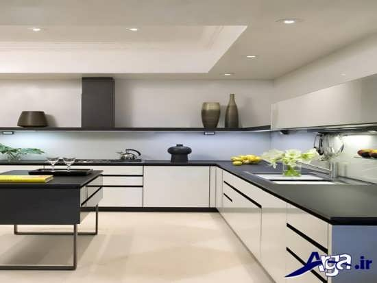 مدل کابینت سفید برای آشپزخانه