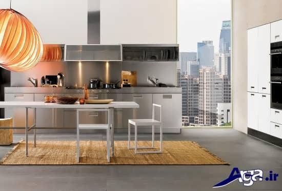 کابینت های زیبا و مدرن برای آشپزخانه