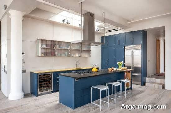 کابینت آشپزخانه مدرن لوکس