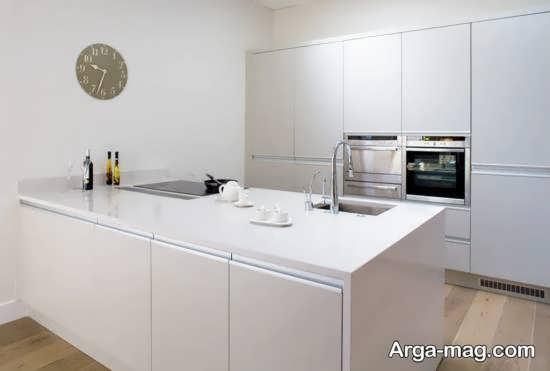 کابینت آشپزخانه مدرن هایگلاس