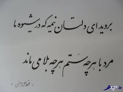 اشعار عاشقانه محمد علی بهمنی