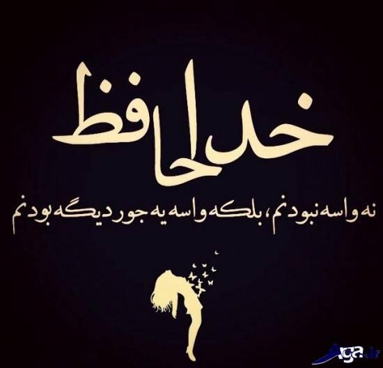 عکس نوشته دار خداحافظی