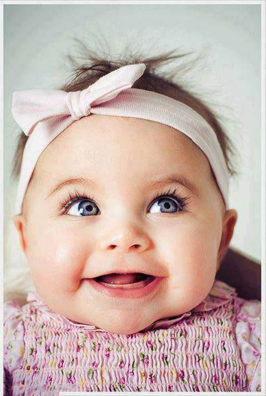 عکس بچه شاد برای پروفایل