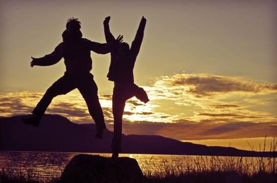 عکس پر انرژی و شاد عاشقانه
