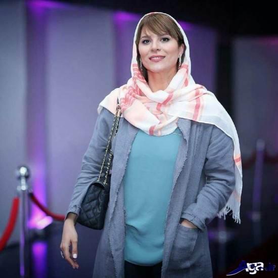 سحر دولتشاهی در مراسم اکران فیلم بارکد