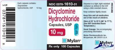 عوارض دی سیکلومین