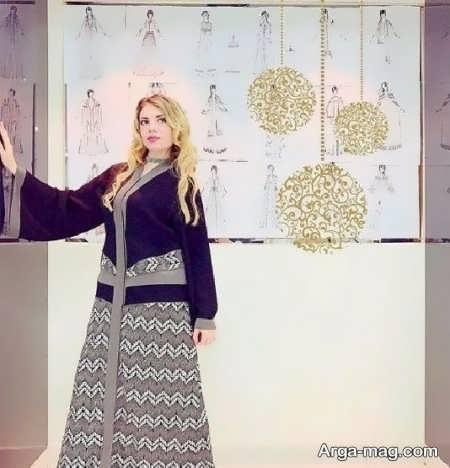 مدل مانتوی عربی شیک
