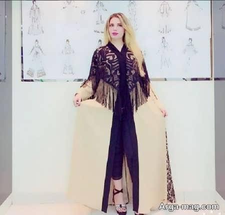 مدل مانتوی عربی زیبا