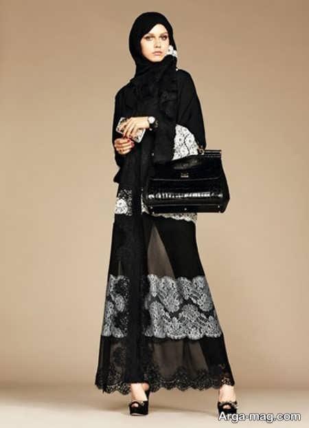 مدلی شیک از مانتوی عربی